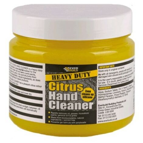 Everbuild HDHAND1 Heavy Duty Citrus Hand Cleaner 1 Litre