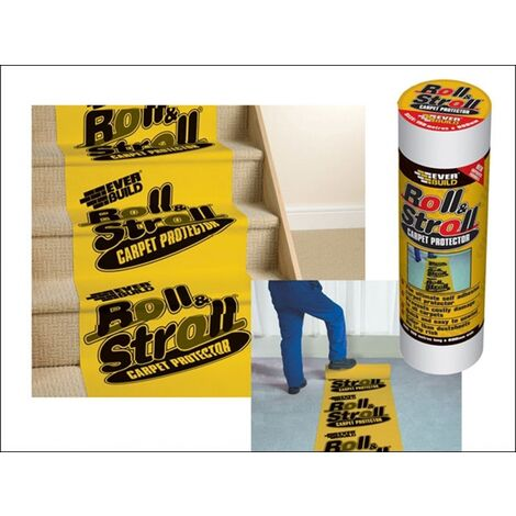 Everbuild HH0119106330 Roll and Stroll Premium Carpet Protector 60cm x 75M