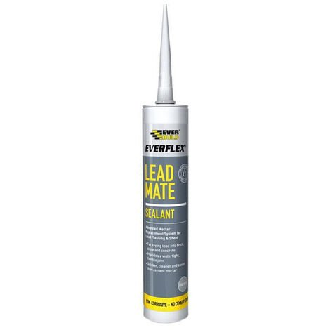 Everbuild Lead Mate Sealant Grey 295ml