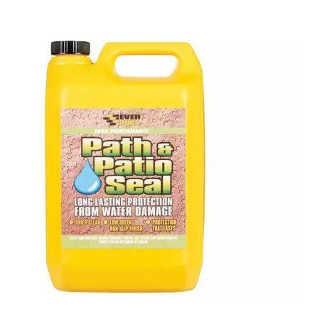 Everbuild PAT5 405 Path & Patio Seal Clear 5 Litre