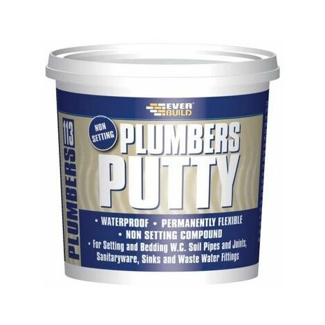 Everbuild PLUMB7 113 Plumbers Putty Beige 750G