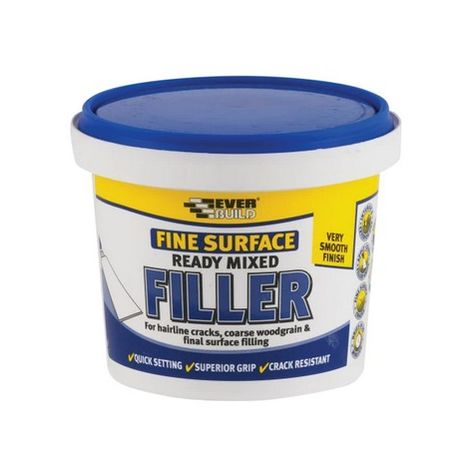 Everbuild RMFINE Fine Surface Filler White 600GM