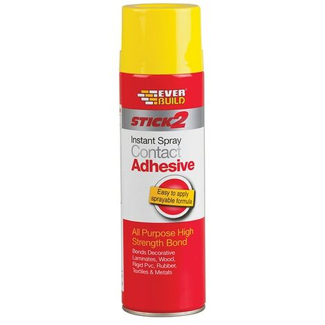 Everbuild Stick 2 Spray Contact Adhesive 500ml