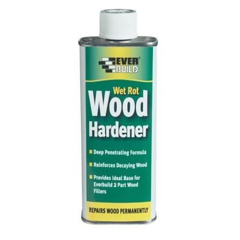 Everbuild Wet Rot Wood Hardener 250ml