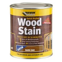 Everbuild WSTAINSNO02 Wood Stain Natural Oak 250ml