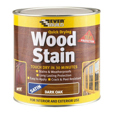 Everbuild WSTAINSNO2 Woodstain Natural Oak 2.5 Litre