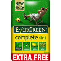 EverGreen Complete Lawn Care Bag + 10 Percent Free