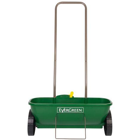Evergreen Easy Drop Garden Spreader For Grass Seed Fertiliser - 53CM