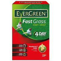 Evergreen Fast Grass Seed 15m