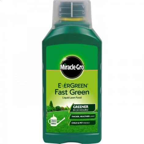 EverGreen Fast Green Miracle-Gro Liquid Lawn Food Concentrate 1L