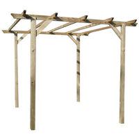 Evergreen Pergola in legno 300x300xh250cm BASIC EG51965