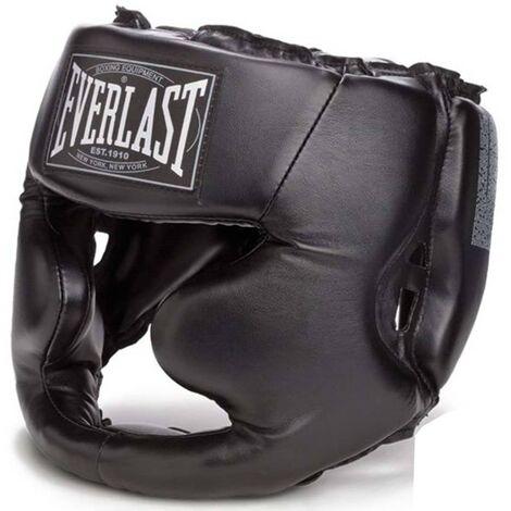 EVERLAST Casco de boxeo Full Protection negro talla S/M