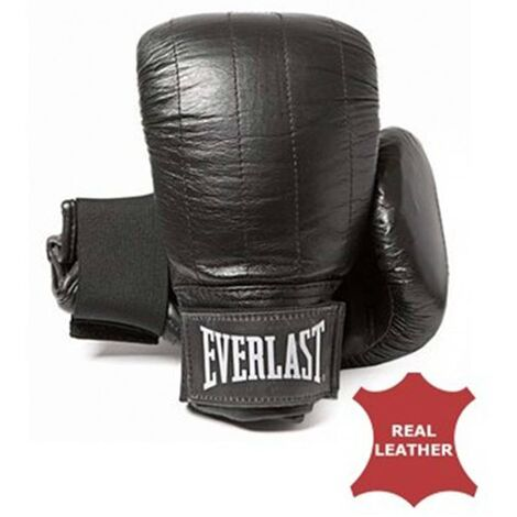 EVERLAST Leather Bag Gloves Boston Black S