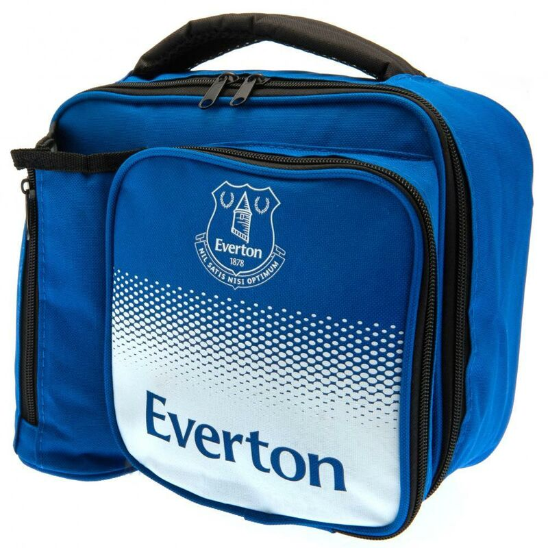 Image of Fade Lunch Bag (One Size) (Blue/White) - Everton Fc