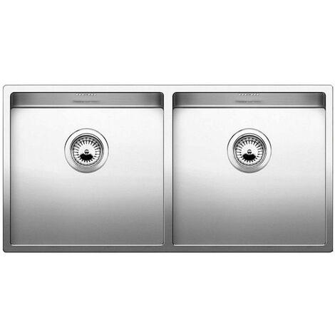 evier 2 cuves à encastrer 40cm inox - 517231 - blanco