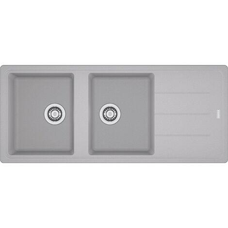 Évier Basis BFG 621-116 Fragranit+ Platinum FRANKE - 1600x500 mm - 114.0280.452