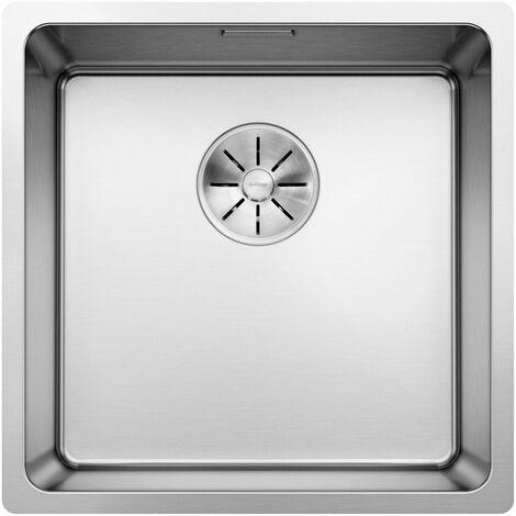 Evier Blanco Andano 400-U InFino - Inox Lisse - Vidage : Automatique