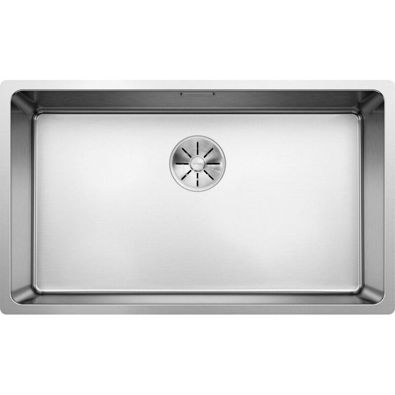 Evier Blanco Andano 700-U Inox InFino - Inox Lisse - Vidage : Automatique