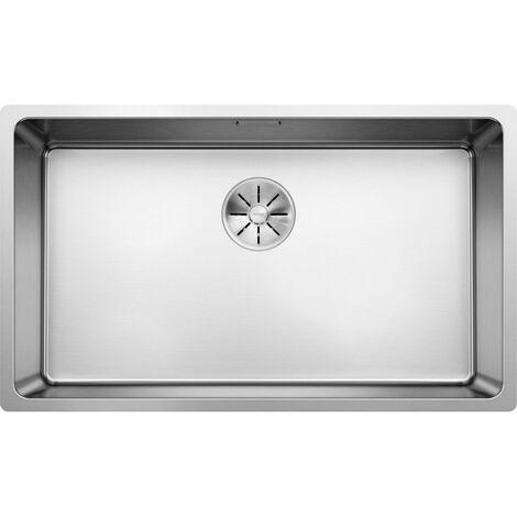 Evier Blanco Andano 700-U InFino - Inox Lisse - Vidage : Automatique