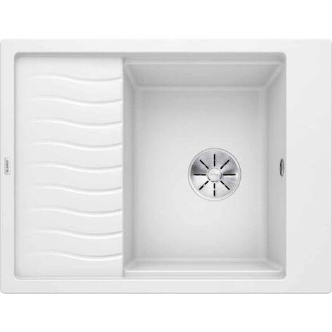 Evier Blanco Elon 45S Silgranit - Blanc - Vidage : Automatique