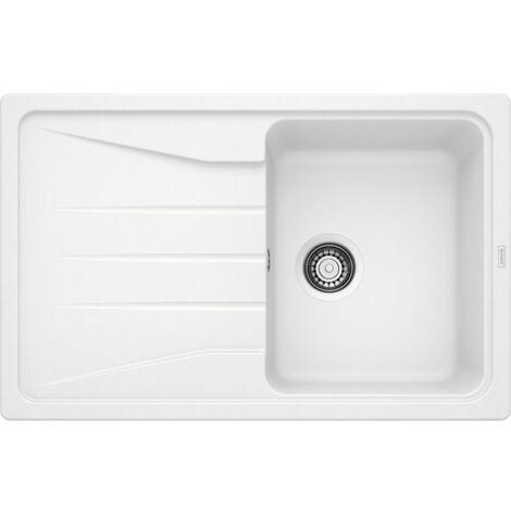 Evier Blanco Sona 45S Silgranit - Blanc