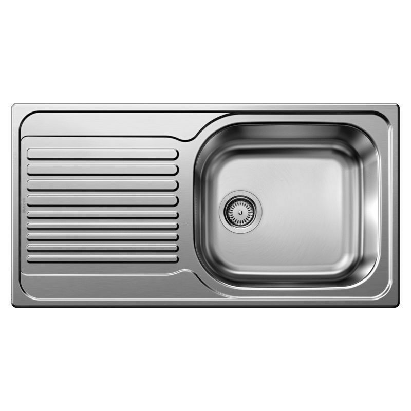 Evier Blanco Tipo XL 6S - Inox Lisse