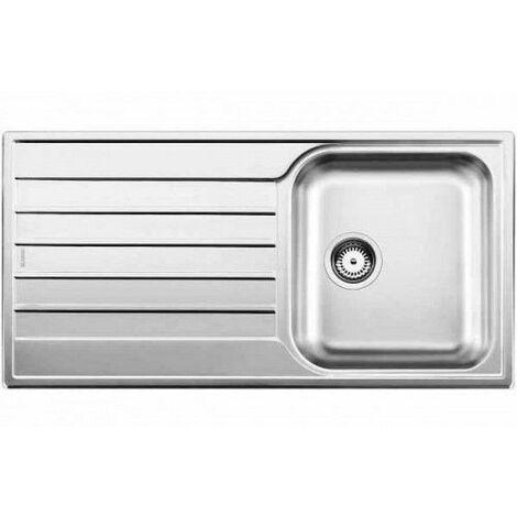 Evier Blancolivit 45 S Salto - Inox Lisse - Vidage : Automatique