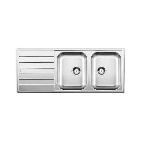Evier Blancolivit 8 S - Inox Lisse - Vidage : Automatique