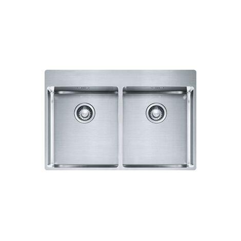 Évier Box Inox Slimtop BXX220-3636 - 770x510x200 mm - Sous meuble 80 cm - Franke