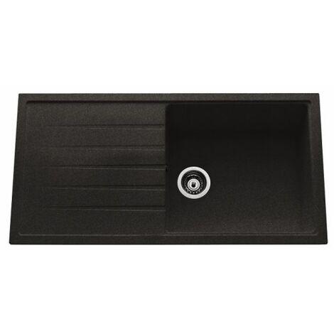 evier de cuisine premium grande cuve nera ev40011vm118. Black Bedroom Furniture Sets. Home Design Ideas