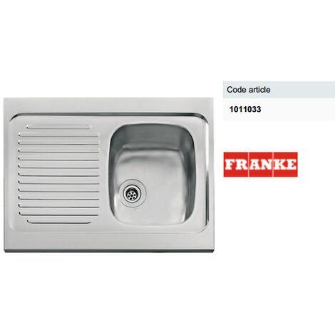 Évier en Inox pour meuble de cuisine 3 largeurs - FRANKE