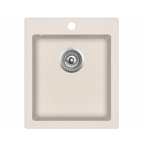 Evier granit - carré sans égouttoir - SIMPLEX