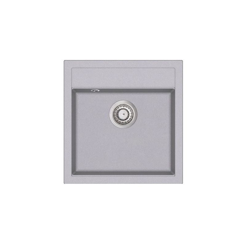 Évier granit gris TESIS 1 bac - Aquasanita