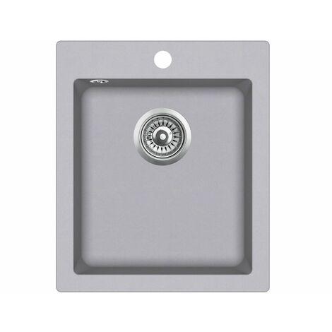 Evier granit LIVRAISON GRATUITE - carré sans égouttoir - SIMPLEX