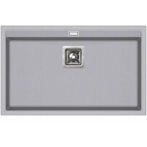 Evier granit LIVRAISON GRATUITE - rectangle sans égouttoir - DELICIA
