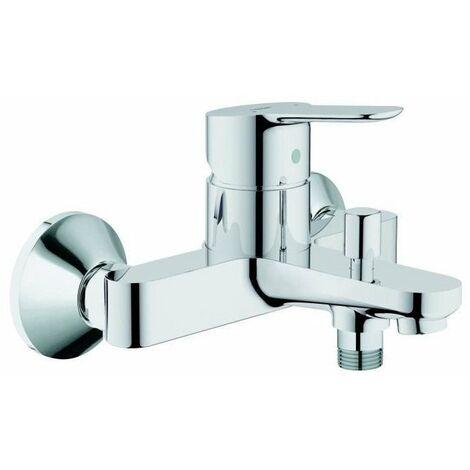Evier GROHE Robinet mitigeur mécanique baignoire et douche Edge - Chromé