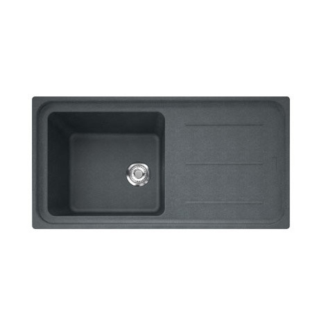 Evier IMPACT IMG611-97 Graphite (sous meuble 60cm) 970x500x220mm