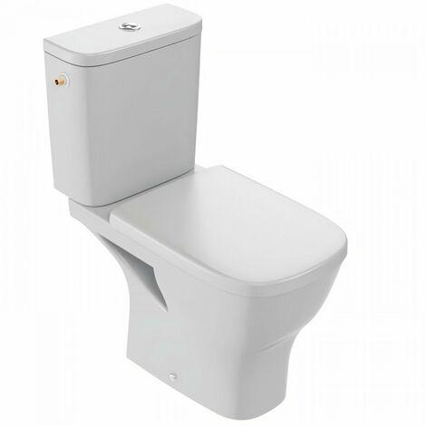 Evier JACOB DELAFON Pack WC au sol sans Bride Struktura E76003-00 3/6L, Blanc