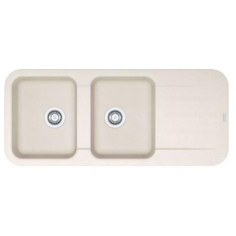 Evier PEBEL FRAGANIT PEG621 Vanilla (sous meuble 80mm) 1160x500x200mm