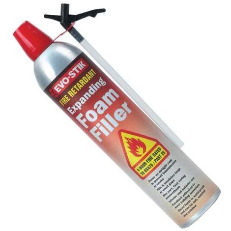 Evo-Stik 30811859 Fire Rated Retardant expanding Foam Filler 700ml