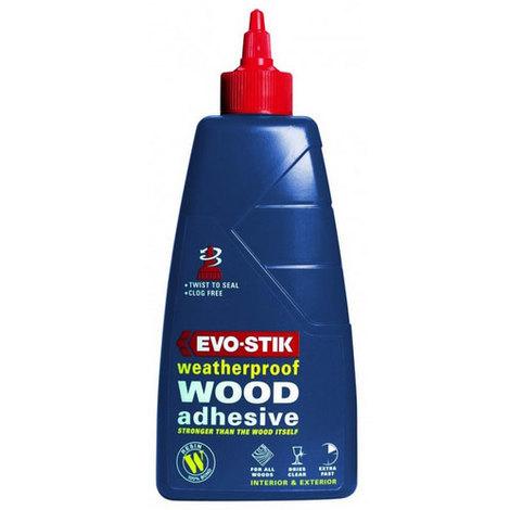 Evo-Stik WW25 Resin W Weatherproof Exterior Wood Adhesive 2.5 Litre