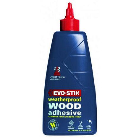 Evo-Stik WW5 Resin W Weatherproof Exterior Wood Adhesive 5 Litre