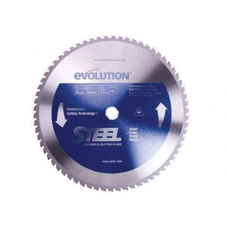 EVOLUTION 90T LAME TCT RAPTOR DE SCIE CIRCULAIRE POUR INOX 355MM