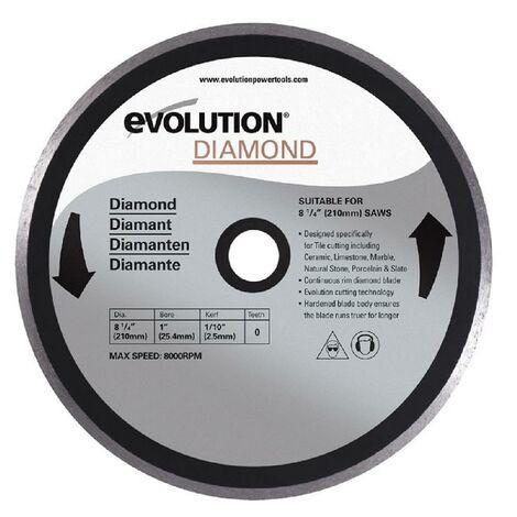 EVOLUTION Disque diamant FURY 210mm