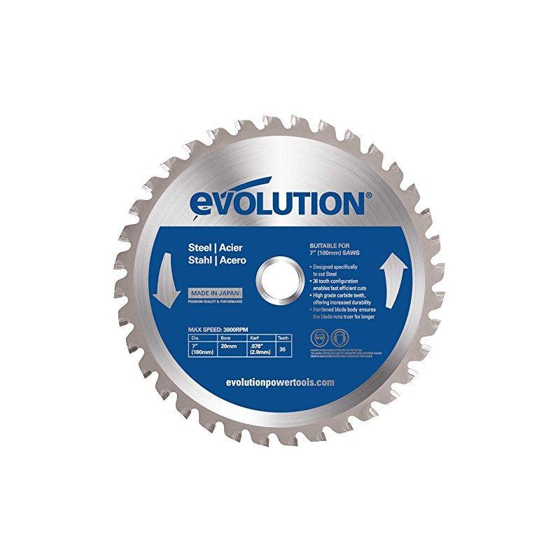 Image of Htc Evolution - Evolution Mild Steel Carbide-tipped Blade, 180 Mm