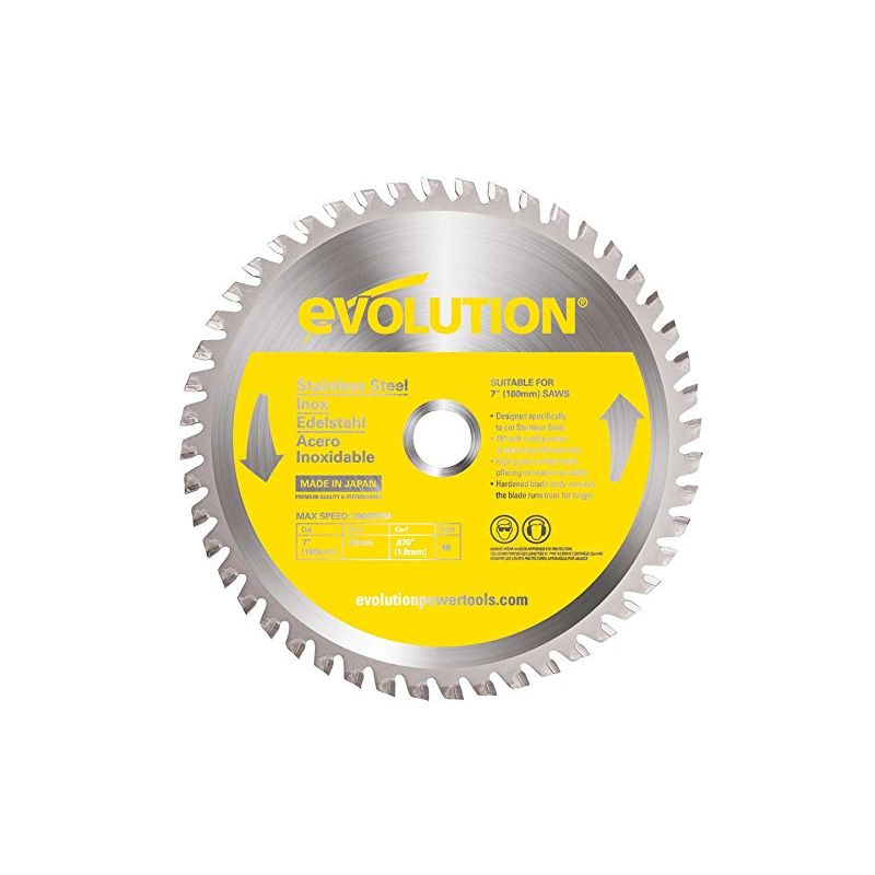 Image of Htc Evolution - Evolution Stainless Steel Carbide-tipped Blade, 180 Mm