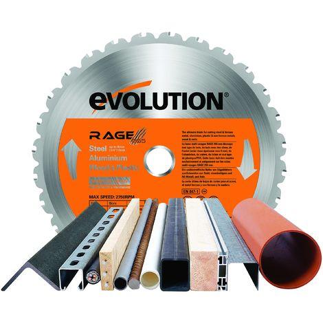 Evolution-Lama diamantata, diametro 255 mm
