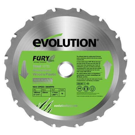 EVOLUTION Lame multi-usages FURY 185mm
