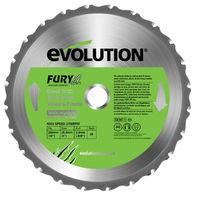 EVOLUTION Lame multi-usages FURY 255mm