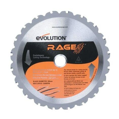 "main image of ""Evolution Power Tools RAGE/RAGE4 185MM Multi Blade"""